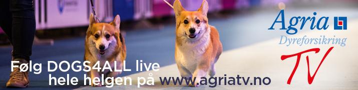 Følg DOGS4ALL Live på agriatv.no